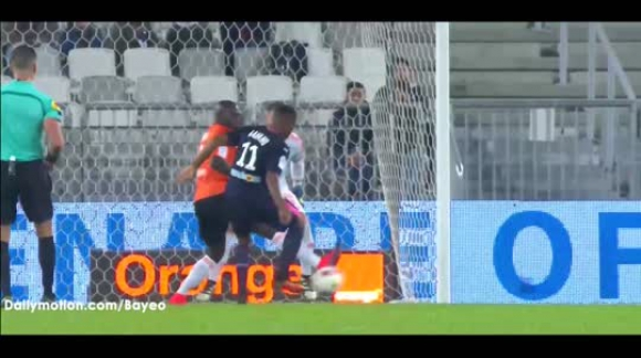 Gol de Rolan Bordeaux 2-1 Lorient - Ligue 1