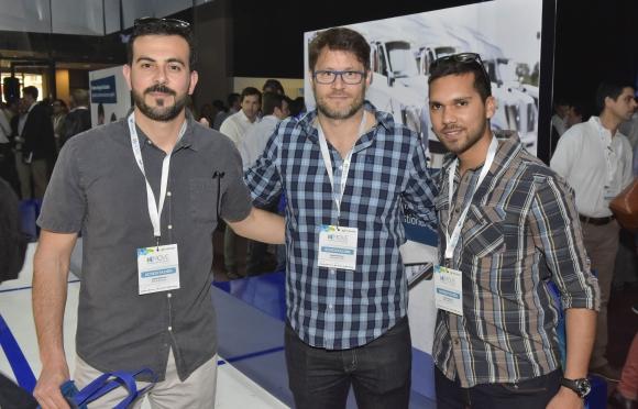 Diego Aguiar, Alejandro Goldwasser, Guillermo Osorio