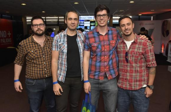 Roberto Valdomir, Gonzalo Arreche, Javier Ferrón, Pablo Álvarez
