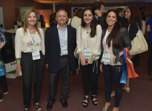 Rossana Taddeo, José Luis Luz, Denise Ponte, Silvina Traverso