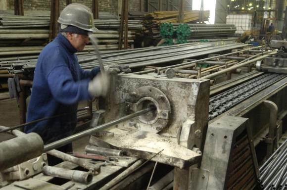 Industria: El empleo volvió a caer el año pasado y baja desde 2011. Foto: Nicolás Pereyra.