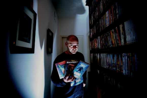 El realizador amateur Guzmán Vila (Foto: Fernando Ponzetto)