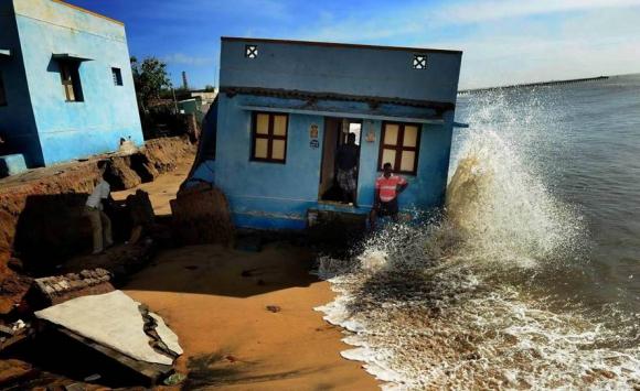 La costa de Chennai, en India. Foto: SL Kumar Shanth.