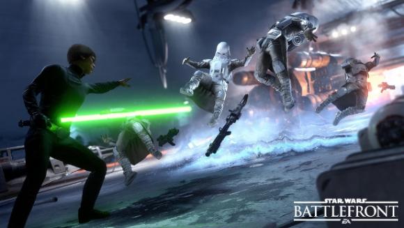 Secuencia del videogame Battlefront, basado en la saga.