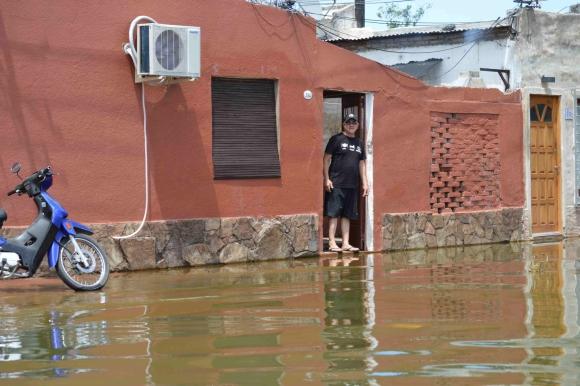 Paysandú tiene 6.700 desplazados de sus hogares. Foto: Daniel Rojas