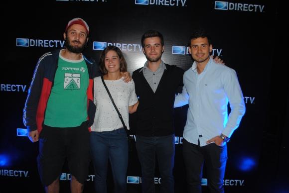 Christian Orta, Margarita Brasso, Nicolás Bañales, Diego Novelle.