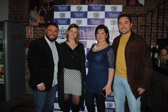 Alfredo Benítez, Victoria Blanco, Lourdes Rapalín y Álvaro Padín.