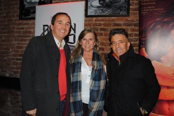 Horacio Maglione, Andrea Curcio, Mauricio Steiner.