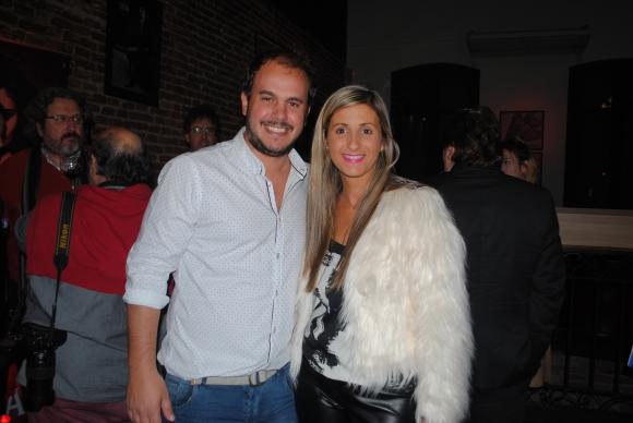 Pablo Calvete, Natalia Muñoz.