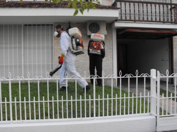 Fumigan en Salto por casos de leishmaniasis. Foto: El País