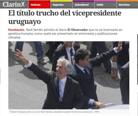 Clarín de Argentina