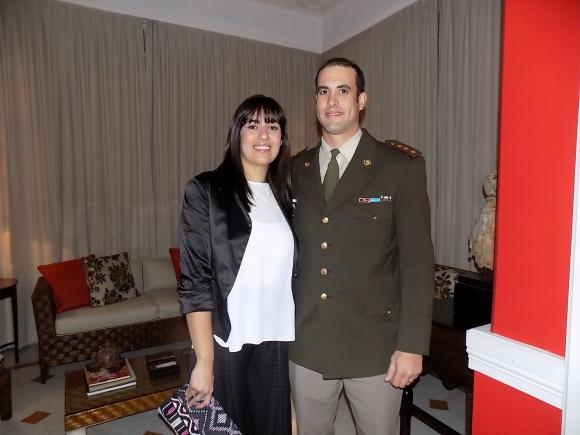 Claudia González, Martín Beloqui.