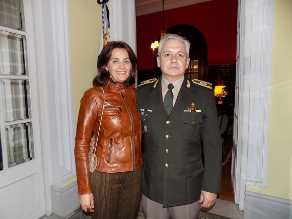 Gabriela Robaina, Gustavo Fajardo.