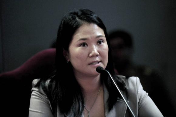 Keiko Fujimori. Foto: AFP.