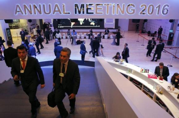 Comenzó la reunión anual del Foro Económico de Davos. Foto: Reuters