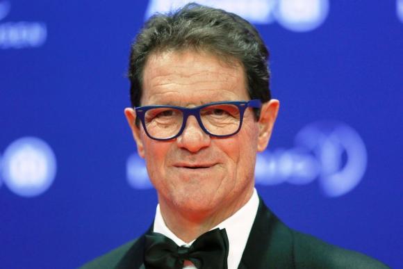 Fabio Capello, en los premios Laureurs. Foto: Reuters.