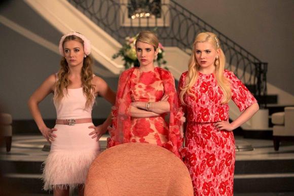 Emma Stones vuelve a liderar el reparto de<i> Scream Queens.</i>