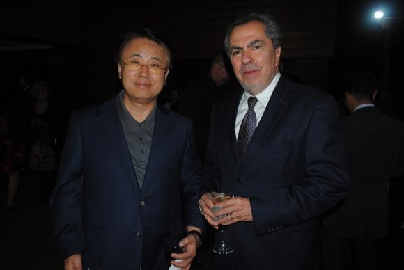 Embajador de Corea Hanjun Yoo, Embajador del Ecuador Galo Galarza