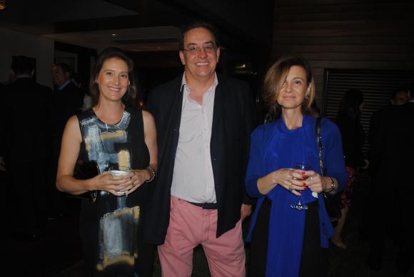 Esperanza Egaña, Gonzalo Marugan, Elena Vila.