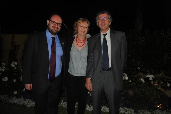 Guilherme Canela, Denise Cook, Manuel de la Iglesia-Caruncho.