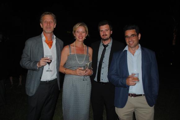 Trey y Rachel Meckel, Andrés Prais, Gerardo Reyes.