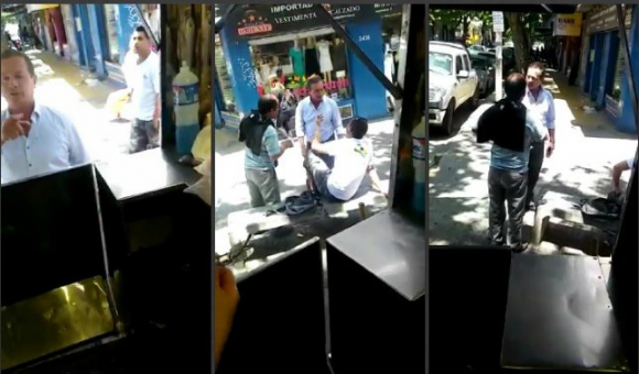 Capturas del video de Daniel Castro.
