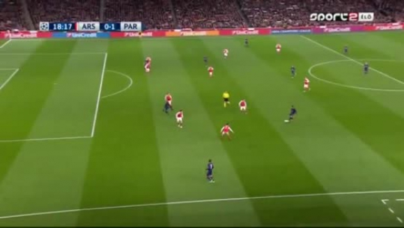 Arsenal 2-2 PSG - Champions League