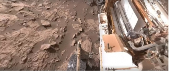 Video 360° de Marte. Foto: Captura