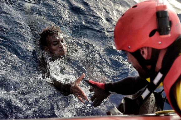 Este año Italia ha recibido a 142.000 inmigrantes ilegales. Foto: AFP