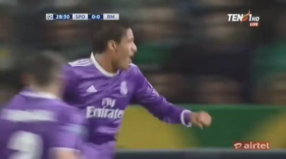 Lisboa 1-2 Real Madrid - Champions League