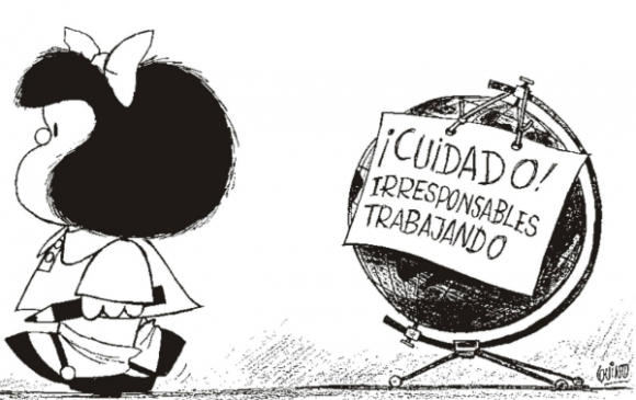 Mafalda, de Quino, un personaje que trascendió fronteras.
