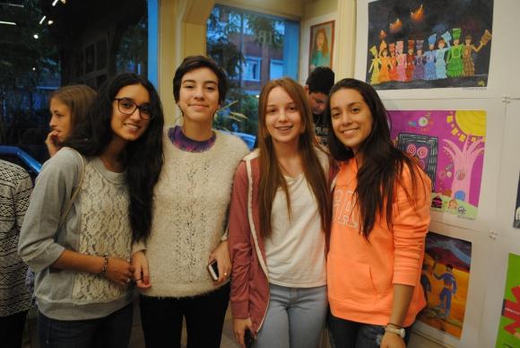 Carolina Peña, Martina Gatti, Federica Arrigoni, Paula Thut.
