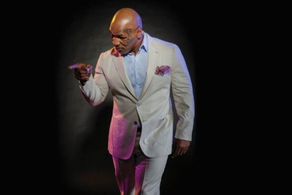 El 9 de julio, Mike Tyson presentará su unipersonal en el Conrad. Foto: Difusión.