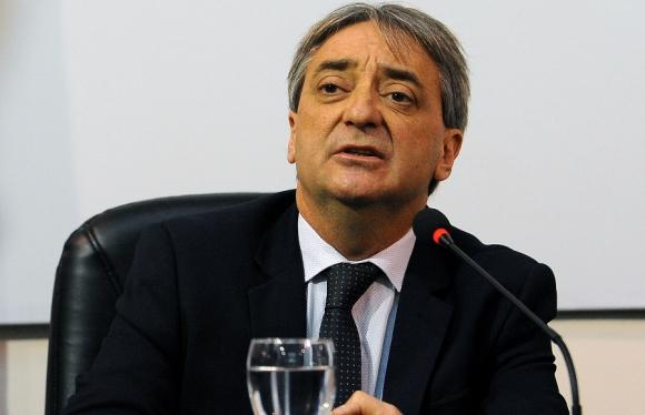 Cáceres. Secretario Nacional del Deporte. Foto: Fernando Ponzetto