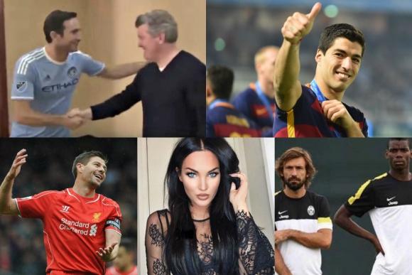 Suárez en el campito, el elogio a Pirlo de Pogba, ¿Gerrard o Lampard? y más