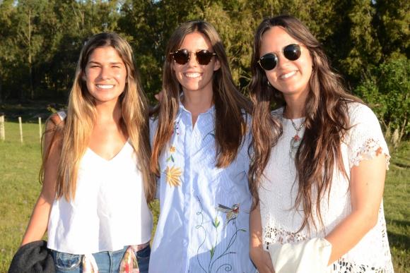 Manuela Torres, Jimena y María Noel Heber. Foto-Ricardo Figueredo.