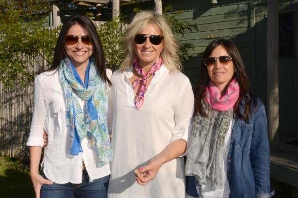 María Inés Morato, Sara Perrone, Carmen Vaeza. Foto-Ricardo Figueredo.