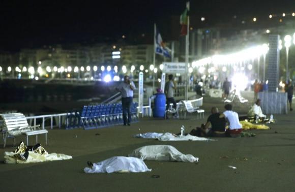 La masacre en Niza dejó al menos 77 muertos. Foto: Reuters