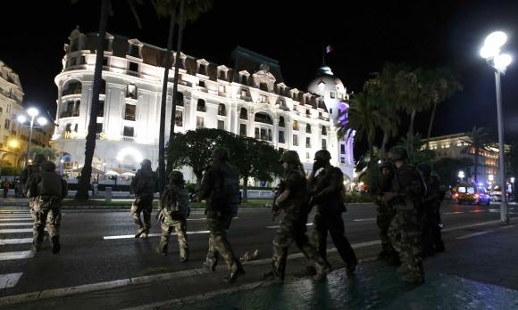Atentado en Francia. Foto: AFP