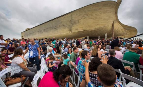 El arca de Noé de Kentucky. Foto: EFE.