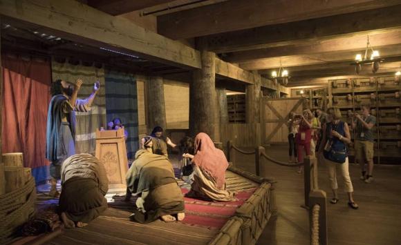 El arca de Noé de Kentucky. Foto: AFP.