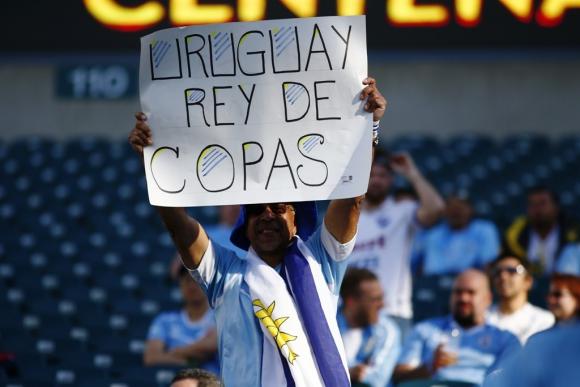 Las imágenes de Uruguay-Venezuela. Foto: EFE