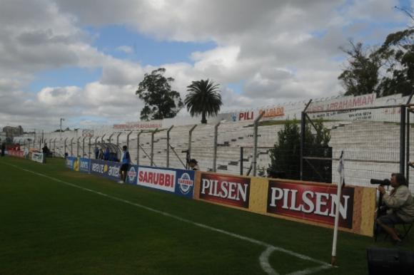 La palmera del estadio de Danubio (Foto: Archivo El País)