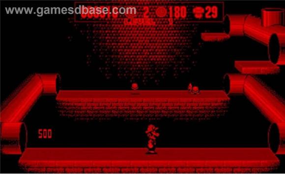 Los juegos tenían una gama de sólo dos colores: negro y rojo. Foto: Gamesdbase.com.