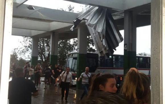 Terminal de Piriápolis. Foto: @AviadorHalcon