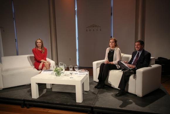 Laura Raffo, Alexandra Morgan, Ernesto Talvi.