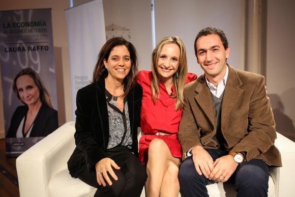 Ana Inés Zerbino, Laura Raffo, Fernando Vallone.
