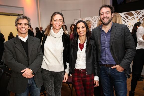 Guzmán Herrera,  Piqui  Gastaldi, Mariana Zabala, Nicolás Fernández.