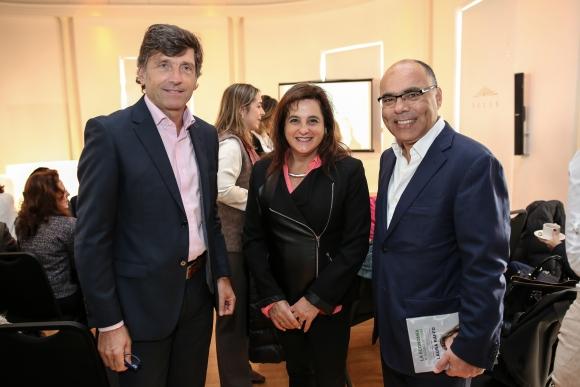 Pablo Marquez, Sylvia Chebi , Andrés Cerisola.