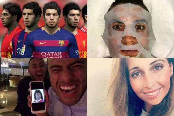La evolución de Suárez en el FIFA, la careta de Cristiano y más